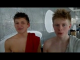 To raske iTUP-svømmere på træningssamling