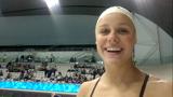 Pernille om følelsen af olympisk vand...og softice!