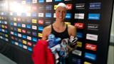 Rikke er godt tilfreds med sin 200 m bryst finale, og med de olympiske rammer...