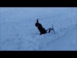 Christian Rasmussen på ski i Lillehammer