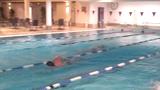 Christian træner speed drills i Lillehammer