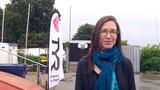 Annemarie deltager ved SVØMs Open Water Test Event